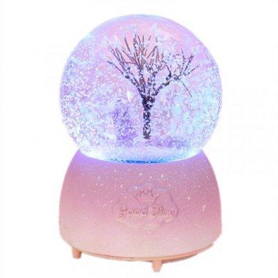 时光宝贝雪花水晶球音乐盒