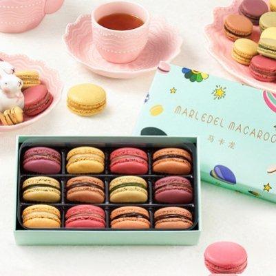 法式马卡龙甜品礼盒