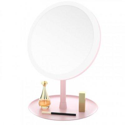 智能补光台式化妆镜