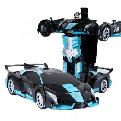 声控变形金刚遥控汽车玩具