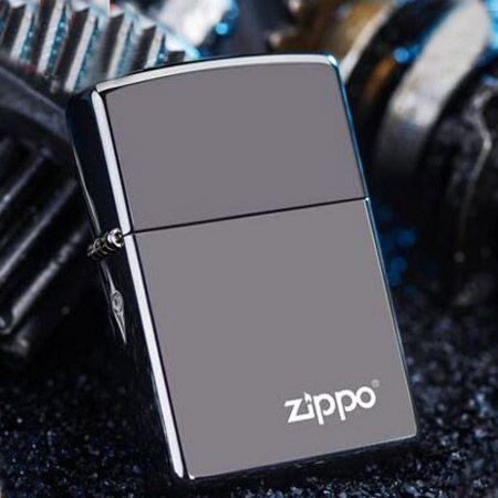 正版ZIPPO黑冰芝宝打火机